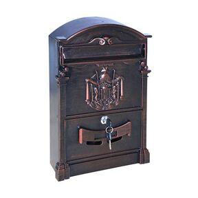 Почтовый ящик - ВН-12 коричневый антик