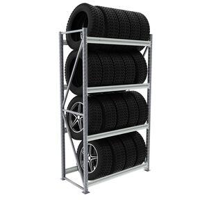 Металлический стеллаж для шин и резины - СШ-03